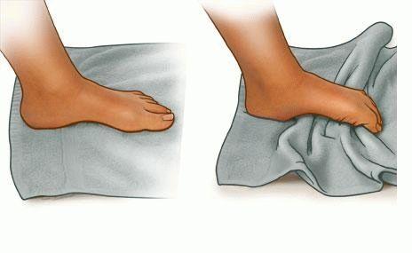 Упражнения на разработку голеностопного сустава лечение суставов в цхалтубо