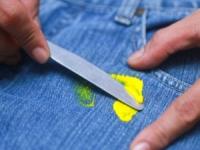 Как отстирать и вывести краску с джинсов в домашних условиях